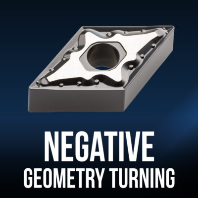 Negative Geometry Turning